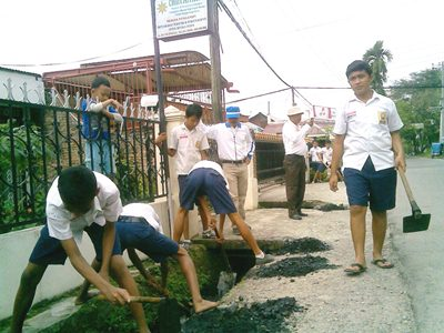 Smp 4 Medan Peduli Lingkungan Bksmp4medan